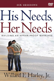 His Needs, Her Needs, DVD for 6-Session Class
